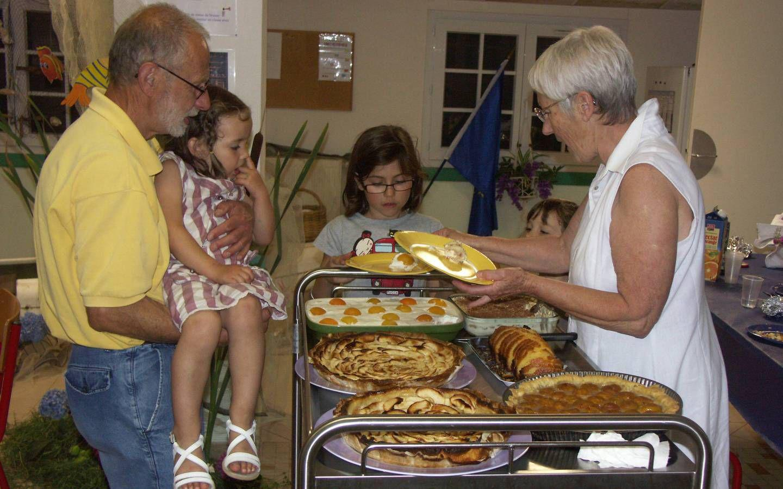 sans oublier Papi et Mamie gâteaux