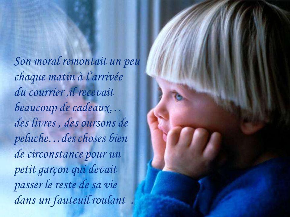 Quand on lui annonça la nouvelle, il pleura énormément, il devint de plus en plus triste et plus rien ne semblait lintéresser dans la vie.