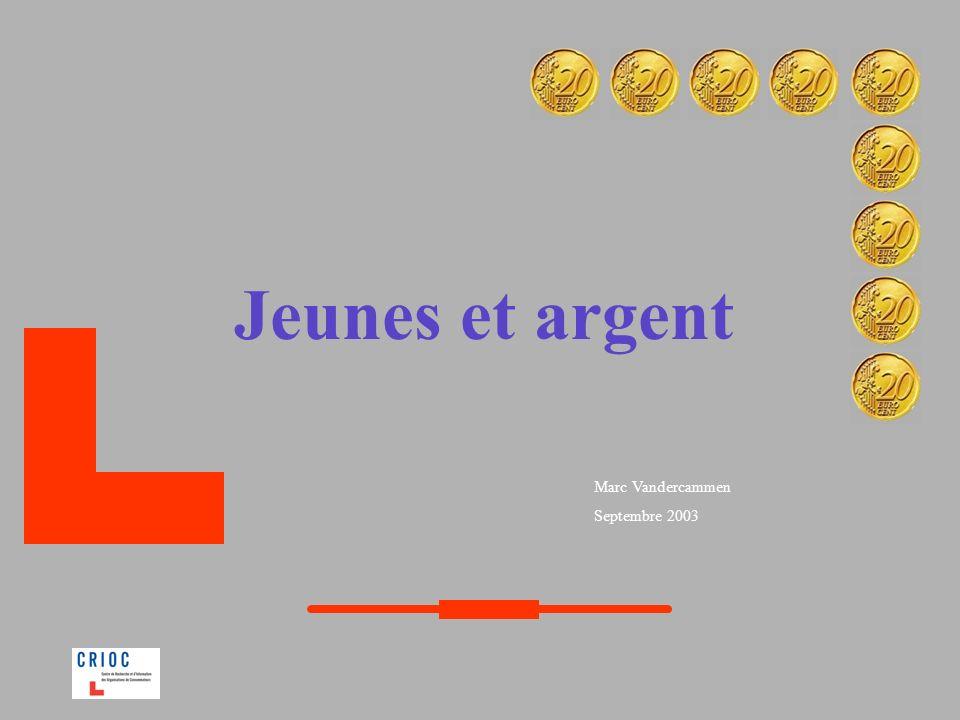 La Belgique dans la moyenne européenne Quelle que soit la tranche dâge, la Belgique sinscrit dans la moyenne européenne en matière dargent de poche.