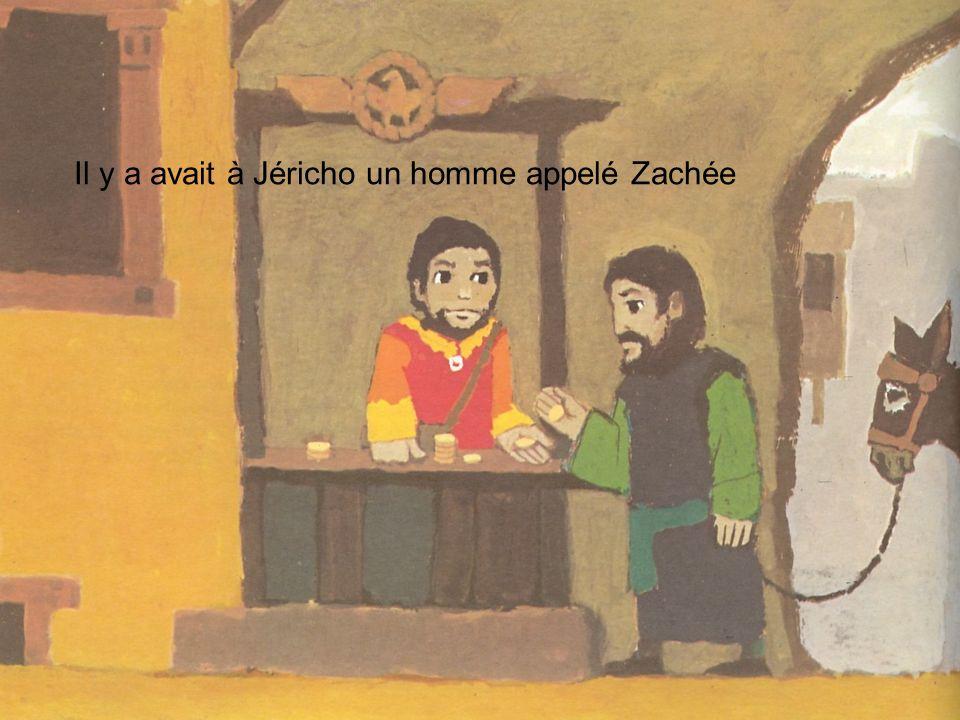 Zachée était le chef des collecteurs dimpôts.Il était riche et pas aimé de ses concitoyens.
