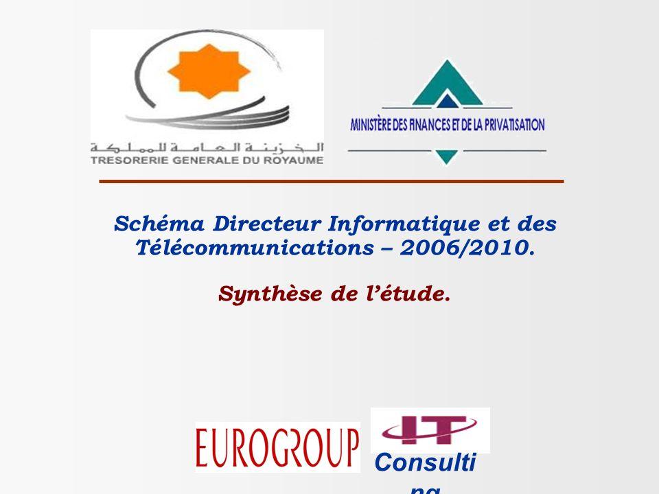 Schéma Directeur du Système dInformation de la TGR – 2006/2010 Page 12 Projets de solutions fonctionnelles par ordre de priorité P5 : Nouveau système de comptabilité, centralisation et de trésorerie.