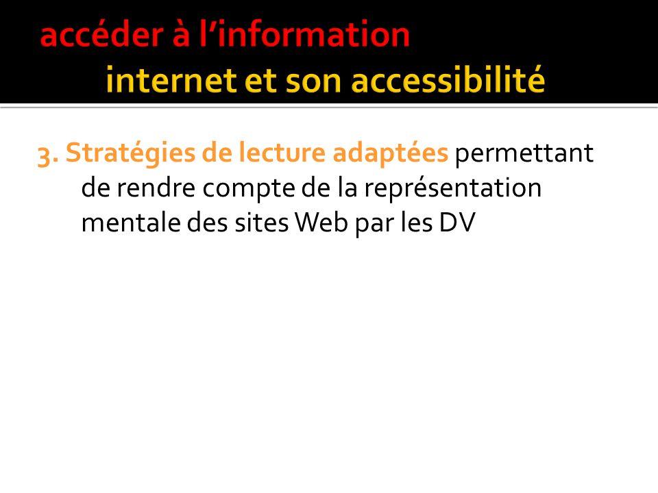 2. Production du document : respect des recommandations de WAI ;