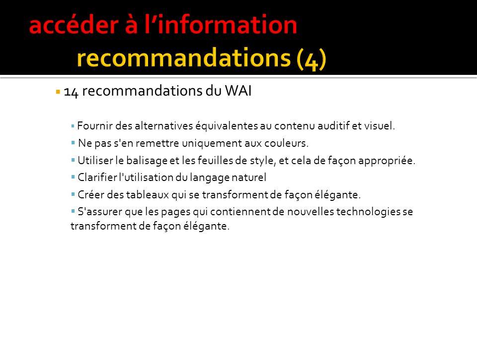 Des standards Au niveau international : W3C, WAI et les WCAG Au niveau français : ADAE en 2004, aujourdhui la DGME avec les RGAA. … et des outils Le W