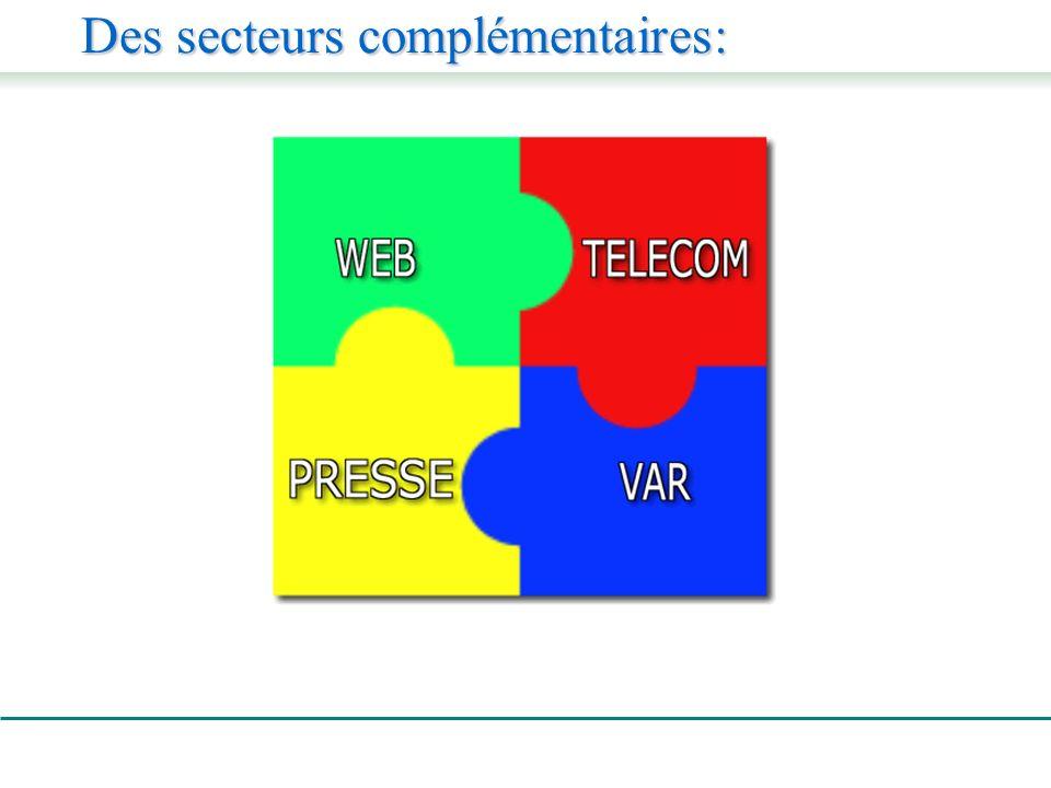 Des secteurs complémentaires: