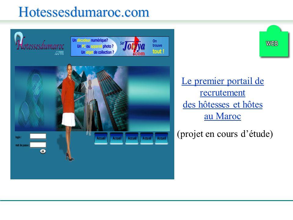 Hotessesdumaroc.com Le premier portail de recrutement des hôtesses et hôtes au Maroc (projet en cours détude)