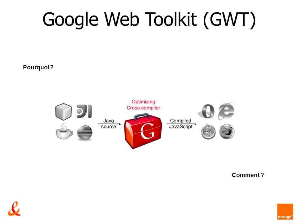 Google Web Toolkit (GWT) Pourquoi ? Comment ?