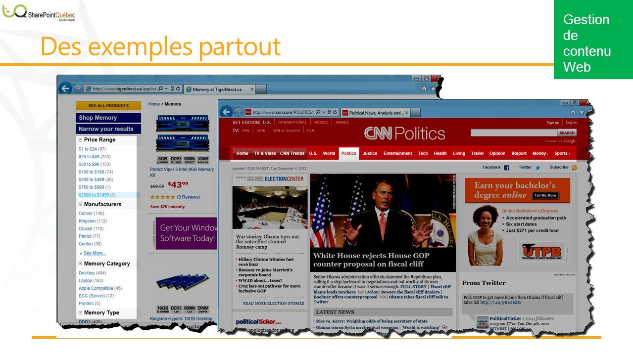 Gestion de contenu Web