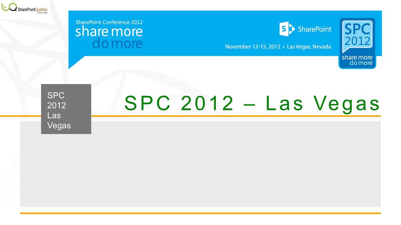 SPC 2012 – Las Vegas