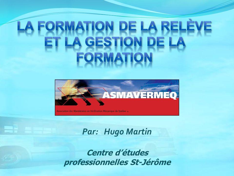 Par: Hugo Martin Centre détudes professionnelles St-Jérôme
