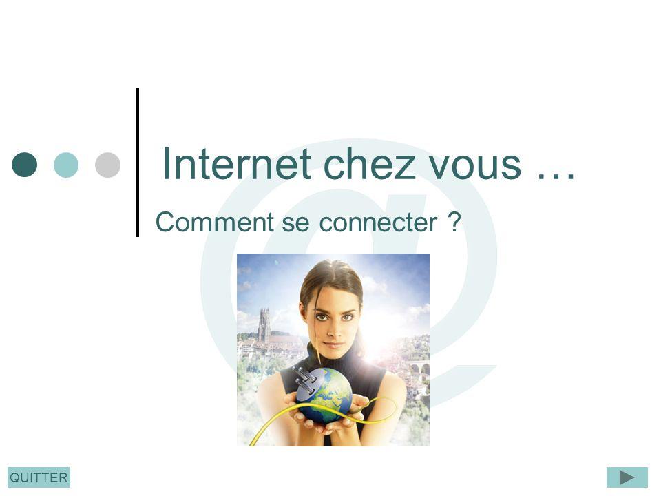 QUITTER Internet chez vous … Comment se connecter ?