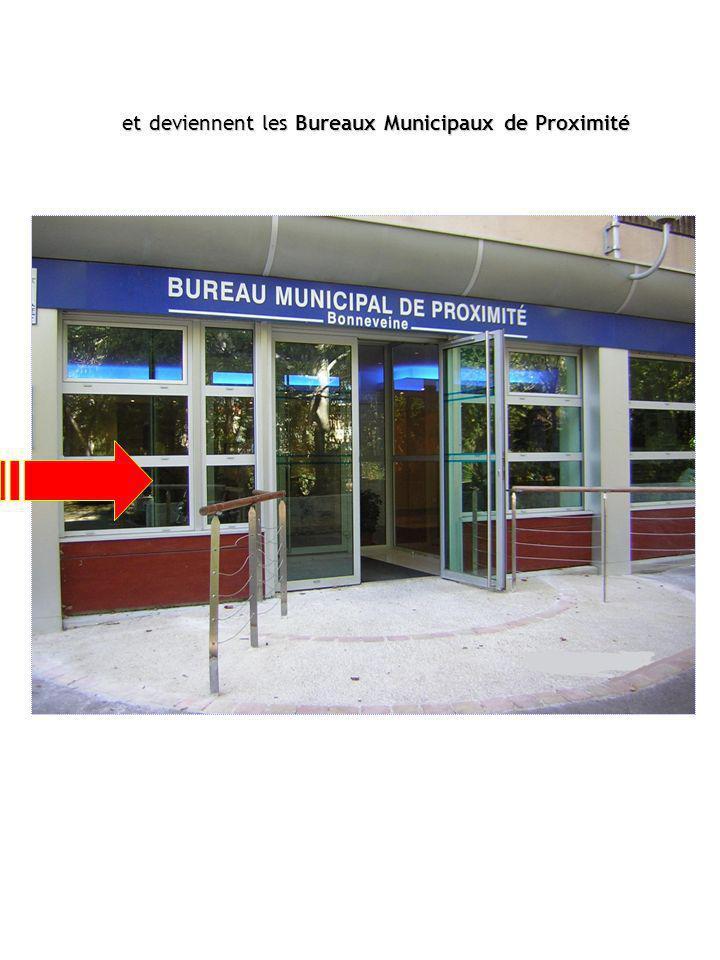 Extension des missions: Inscription sur les listes électorales Délivrance des actes dÉtat Civil (ensemble des mairies de Marseille) Démarches à domicile