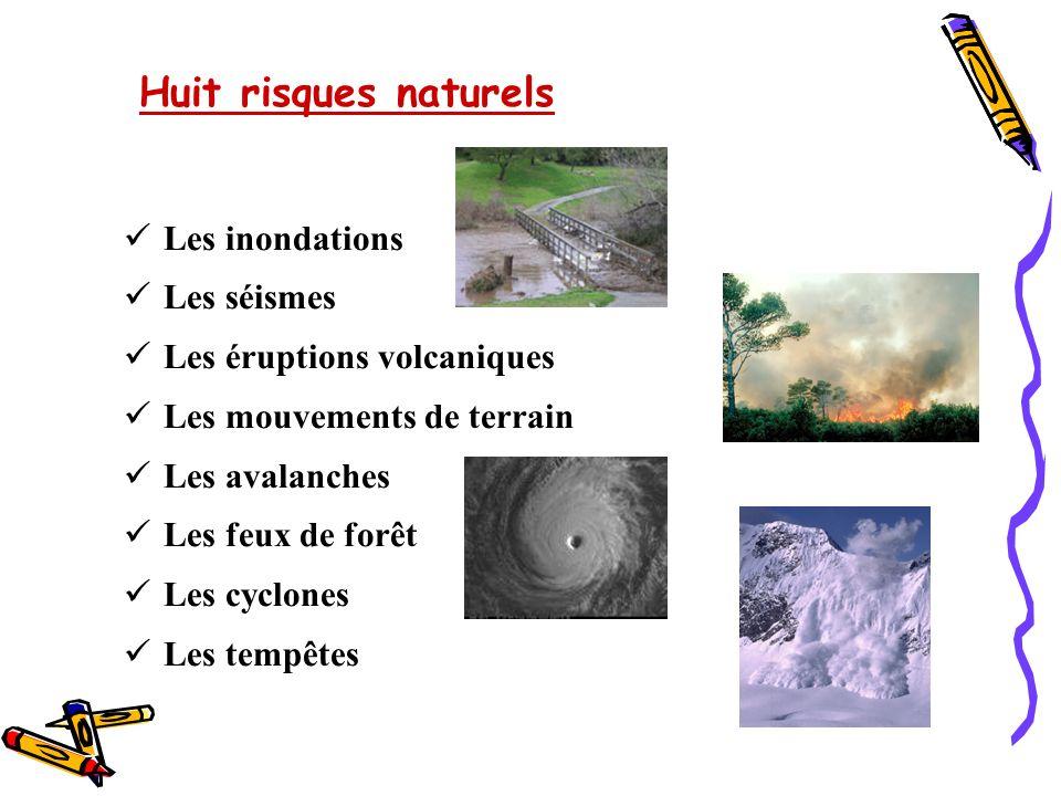 Quatre risques technologiques Le risque nucléaire Le risque industriel Le risque de transport de matières dangereuses Le risque de rupture de barrage