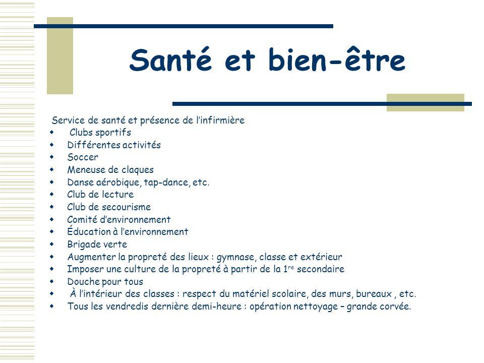 7. Promouvoir la vie pédagogique 5.