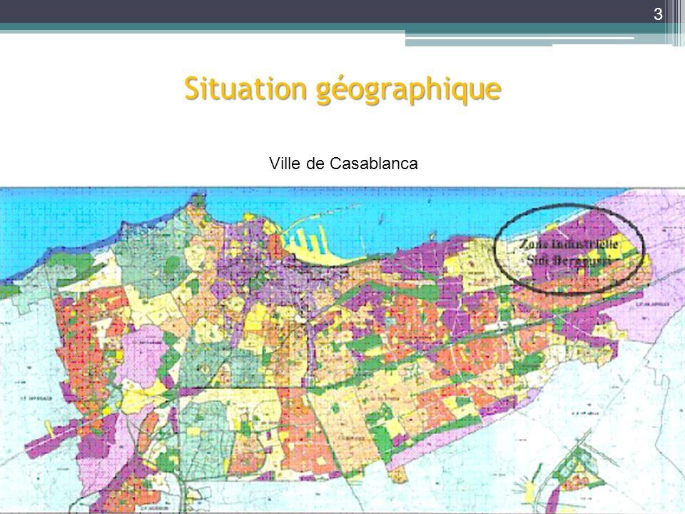 Situation géographique Ville de Casablanca 3
