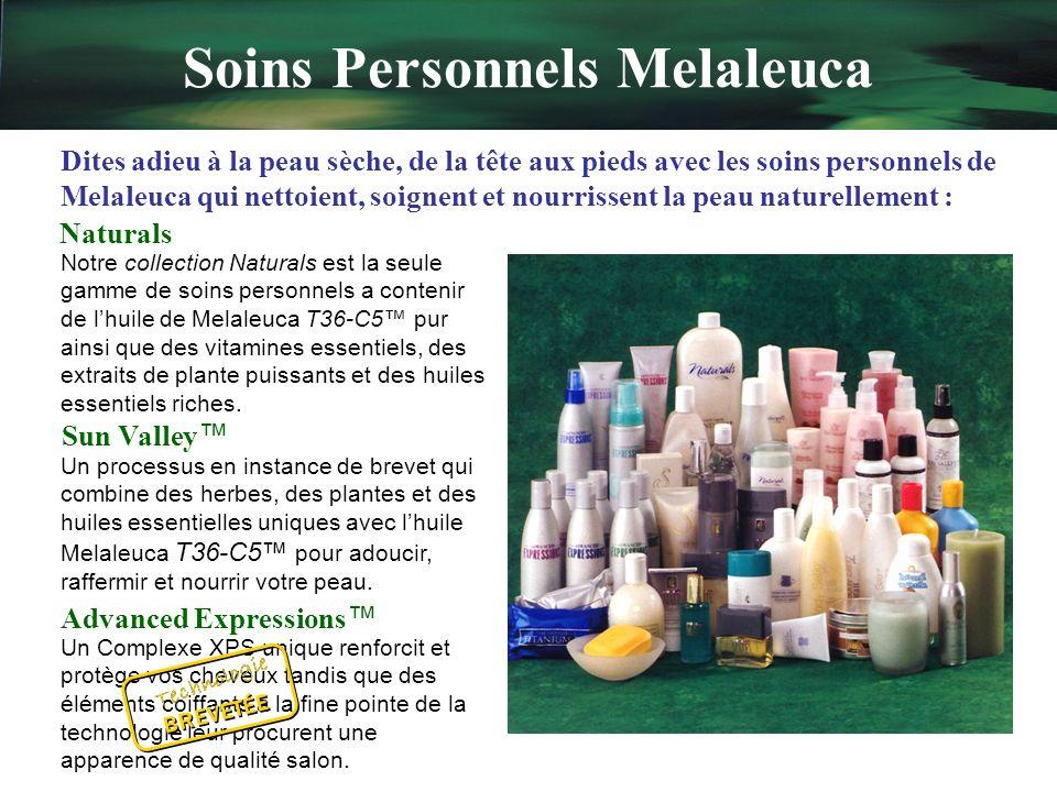 Quest-ce que Melaleuca? Centrés sur le bien-être et la prévention Uniques et exclusifs Économiques Plus sûrs pour votre maison et votre famille Écolog