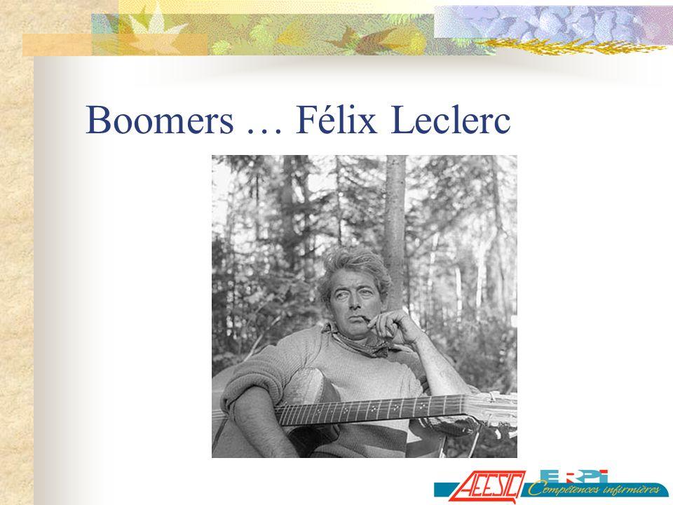 Boomers … Félix Leclerc