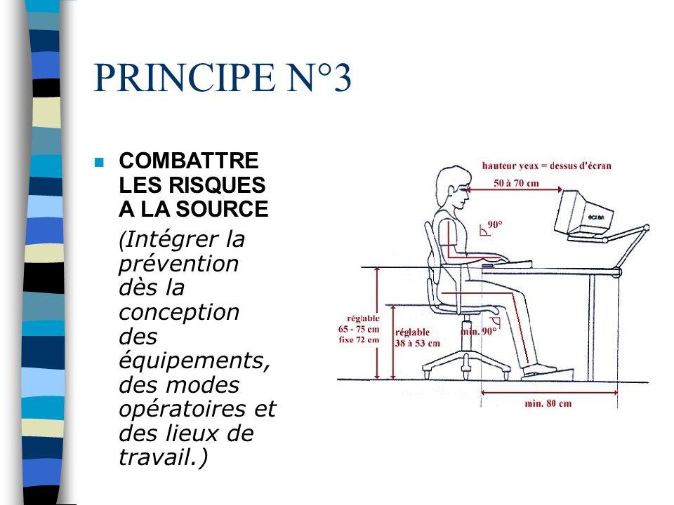 PRINCIPE N°2 n EVALUER LES RISQUES NE POUVANT ÊTRE EVITES ( Apprécier leur nature et leur importance, notamment lors de lélaboration du document uniqu