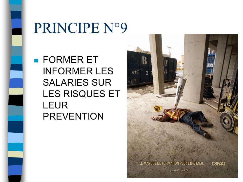 PRINCIPE N°8 METTRE EN PLACE DES MESURES DE PROTECTION COLLECTIVES EN LEUR DONNANT LA PRIORITE SUR LES MESURES DE PROTECTION INDIVIDUELLE ( Utiliser d