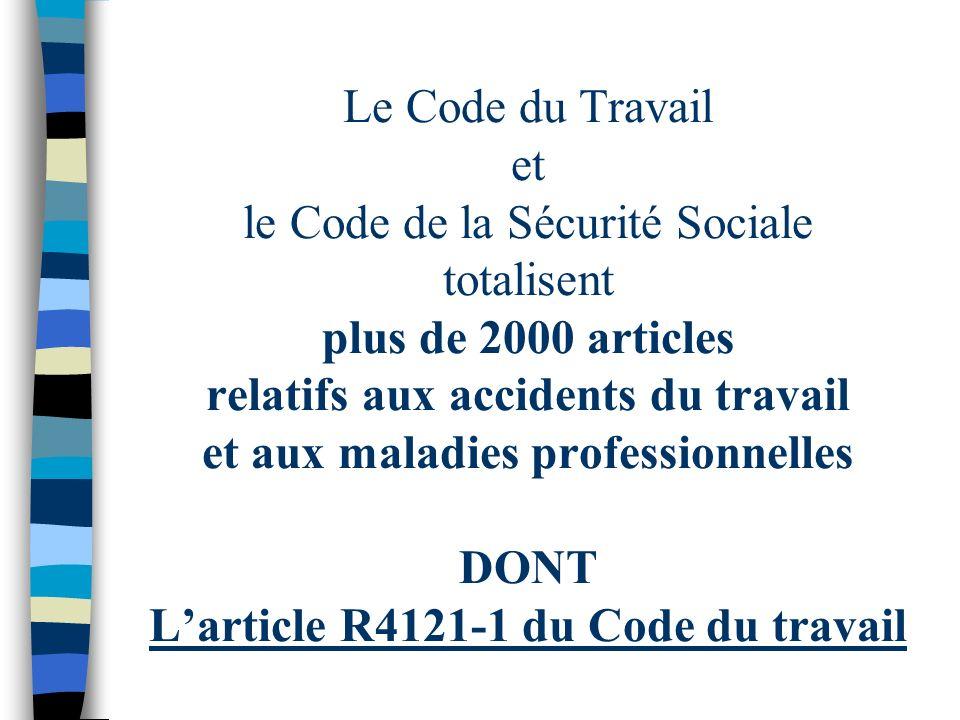 n Les autres sources du droit –Le Code de la Sécurité Sociale –La circulaire –La convention collective –Le règlement intérieur –Les recommandations de