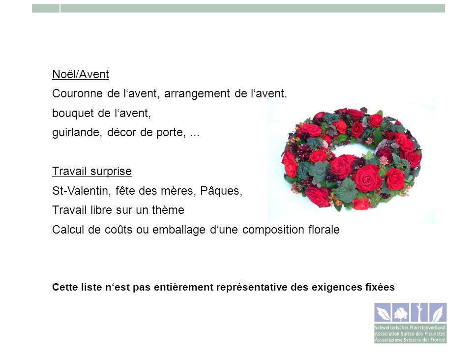 Noël/Avent Couronne de lavent, arrangement de lavent, bouquet de lavent, guirlande, décor de porte,... Travail surprise St-Valentin, fête des mères, P