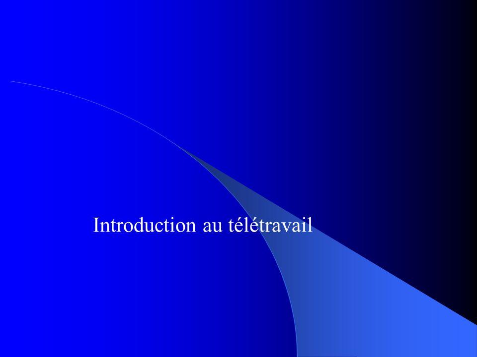 Introduction au télétravail