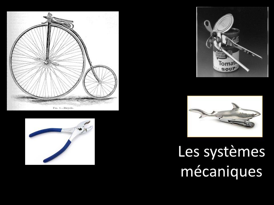 Les systèmes mécaniques