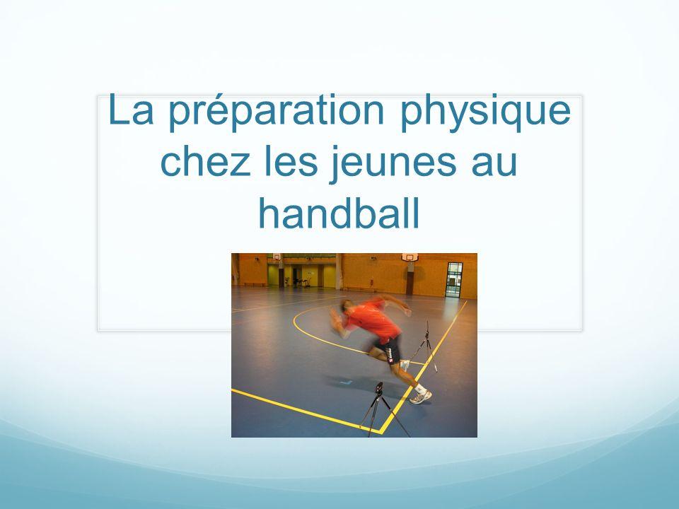 La préparation physique chez les jeunes au handball
