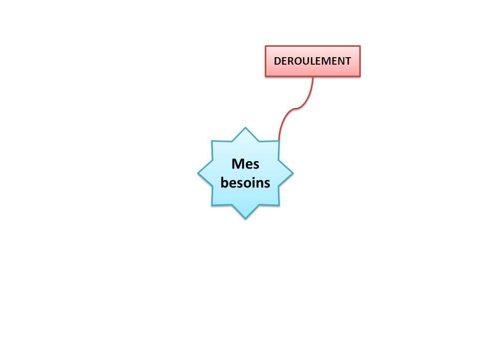DEROULEMENT Cours/ TD Cours/ TD Participation Peu de bavardages! Mes besoins Avoir votre matériel