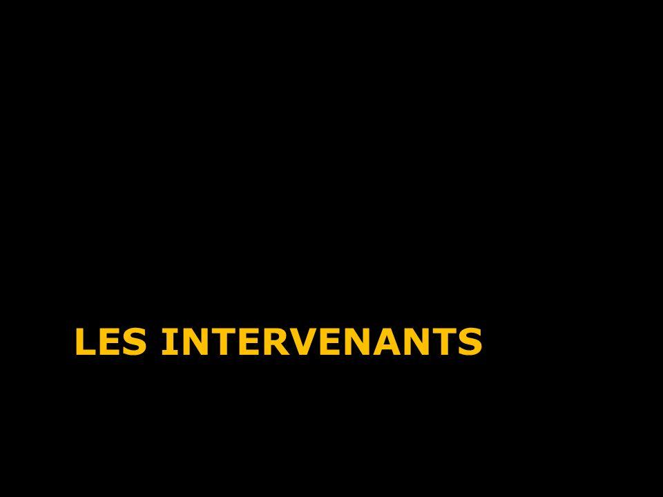 LES INTERVENANTS
