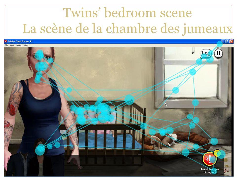 Twins bedroom scene La scène de la chambre des jumeaux 30