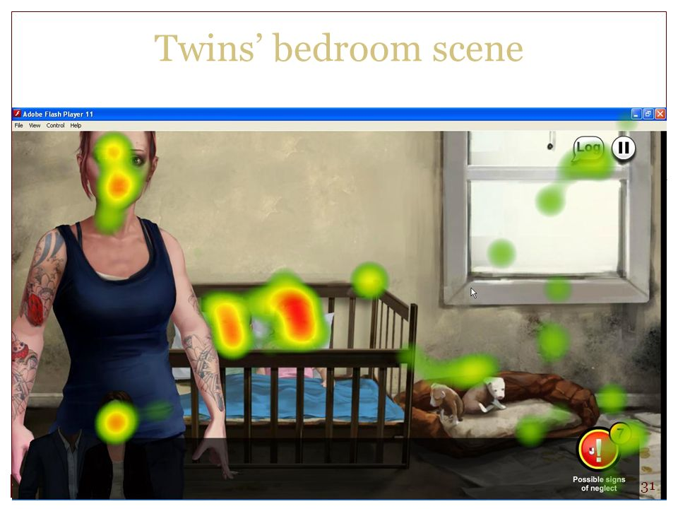 Twins bedroom scene 31