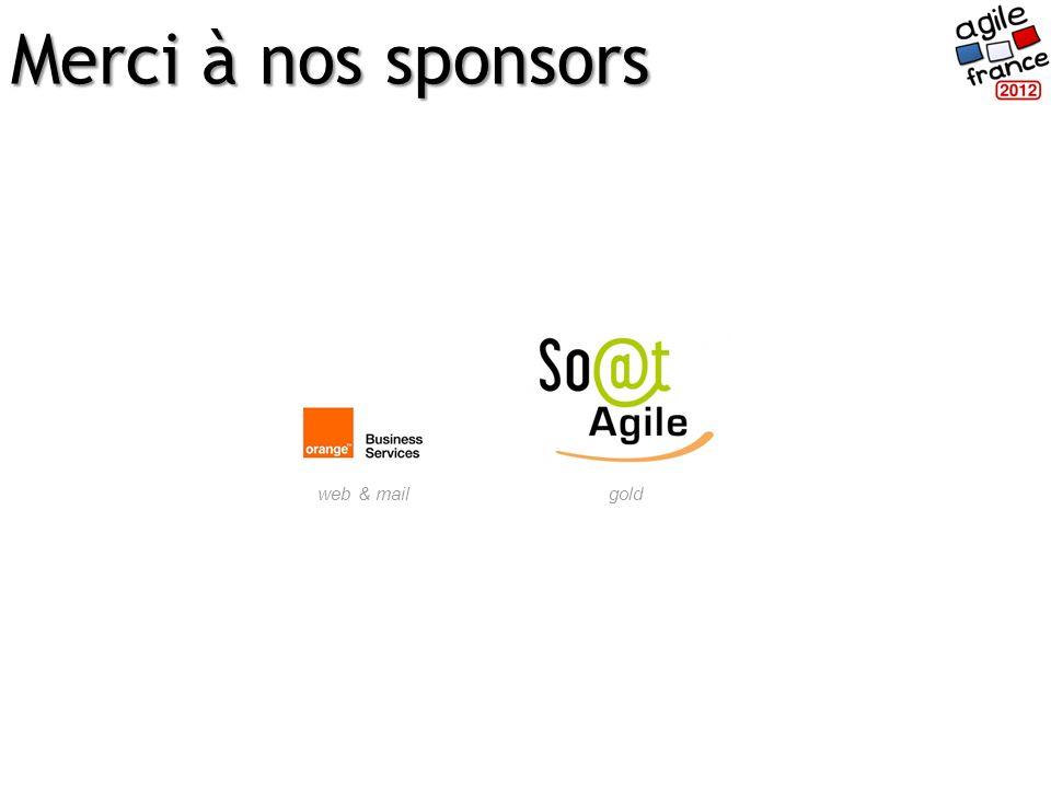 Merci à nos sponsors goldweb & mail