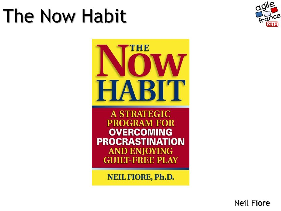 The Now Habit Neil Fiore