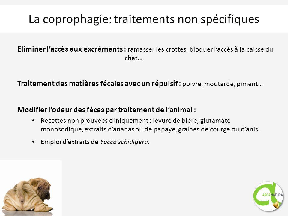 Toujours associer les traitements spécifiques et non spécifiques Traitements spécifiques : Médical: traitement de la cause si identifiée Comportementa