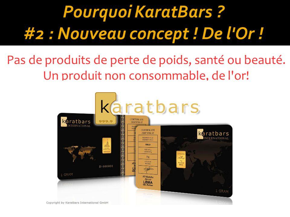 Pourquoi KaratBars .#2 : Nouveau concept . De l Or .