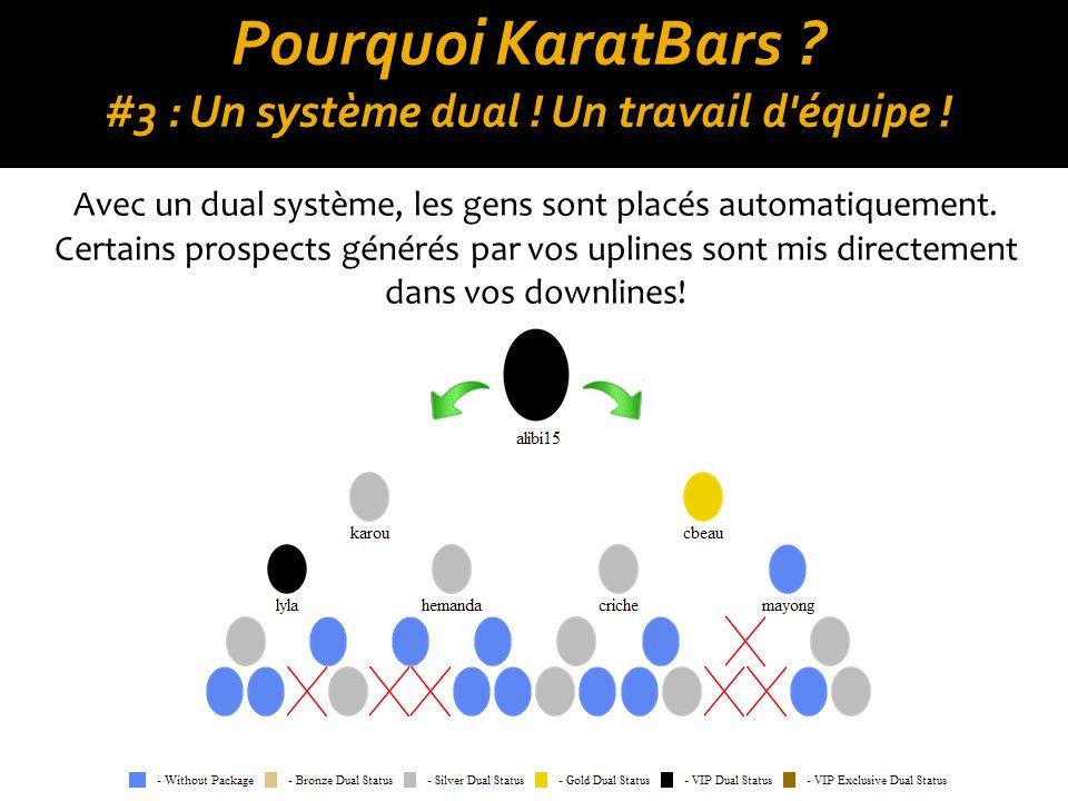 Pourquoi KaratBars .#4 : Cyclez à l infini . Cyclez à l infini.