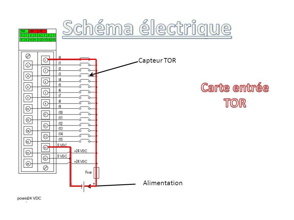 Alimentation Capteur TOR