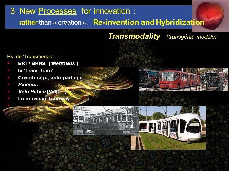 Transmodality (transgénie modale) 3.