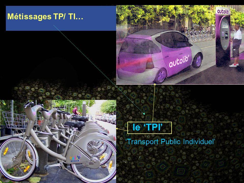 Métissages TP/ TI… le TPI Transport Public Individuel