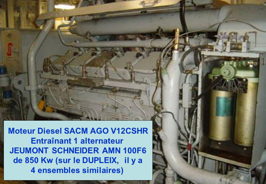 Un aperçu de la turbine à gaz ROLLS ROYCE Olympus TM3B La turbine à gaz, permet au bâtiment de monter en vitesse très rapidement, afin de suivre son « adversaire » Local turbine….