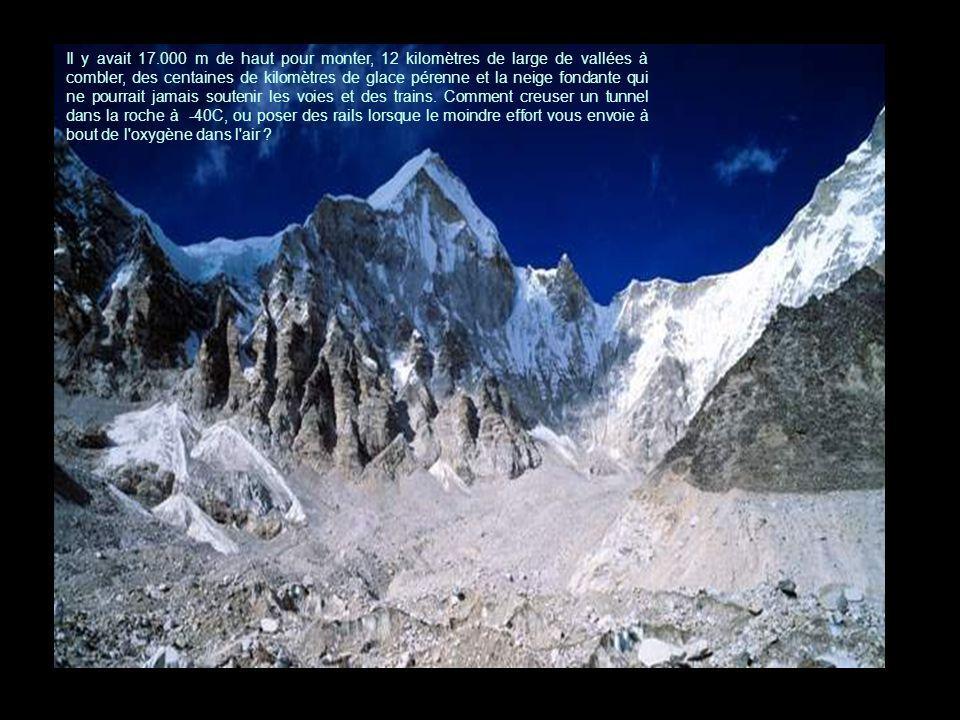 Chaîne de montagnes de Kunlun.