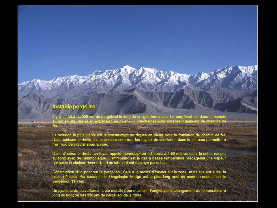 Il y avait 17.000 m de haut pour monter, 12 kilomètres de large de vallées à combler, des centaines de kilomètres de glace pérenne et la neige fondant