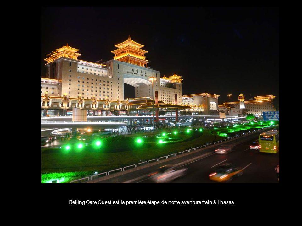 Beijing Ouest - c'est là que commence notre histoire. (Beijing - en français Pékin).