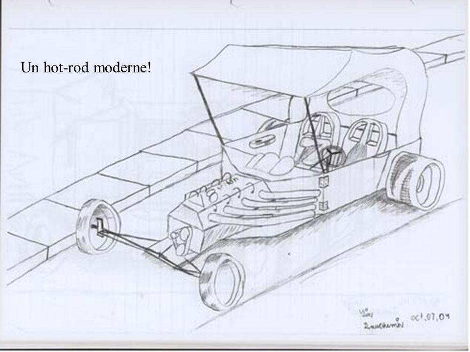 Sa première voiture quil a dessiné en 3Dimensions… À làge de 11 ans, assez étonnant non.