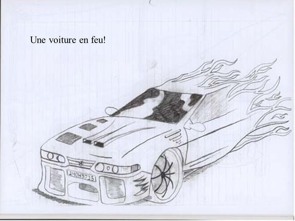 Une de ses voitures du futur!