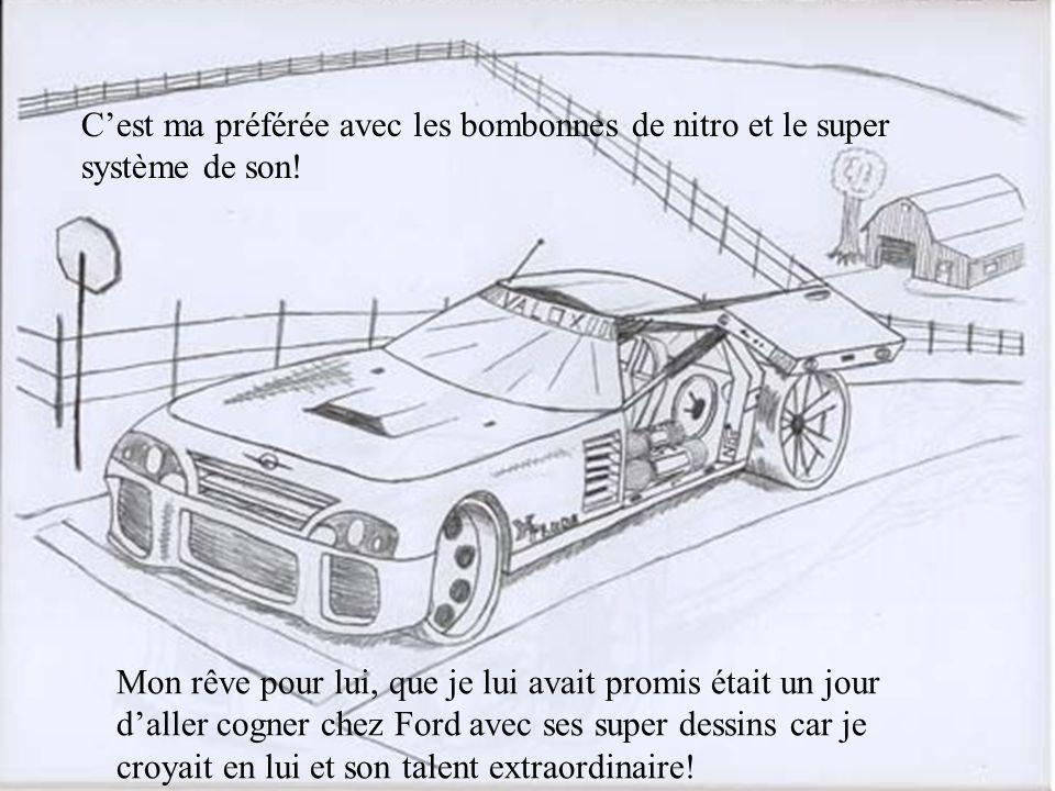 Une autre de ses autos du futur!