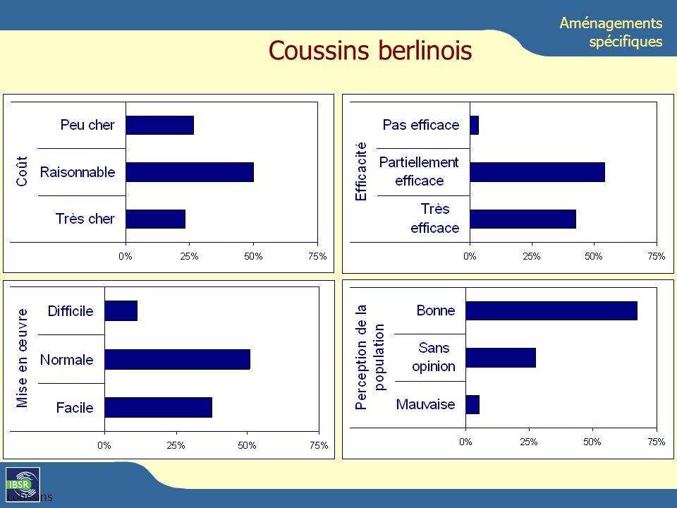 coussins Aménagements spécifiques Coussins berlinois