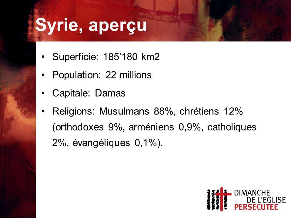 De nombreuses personnes sont ouvertes à lEvangile en Syrie.