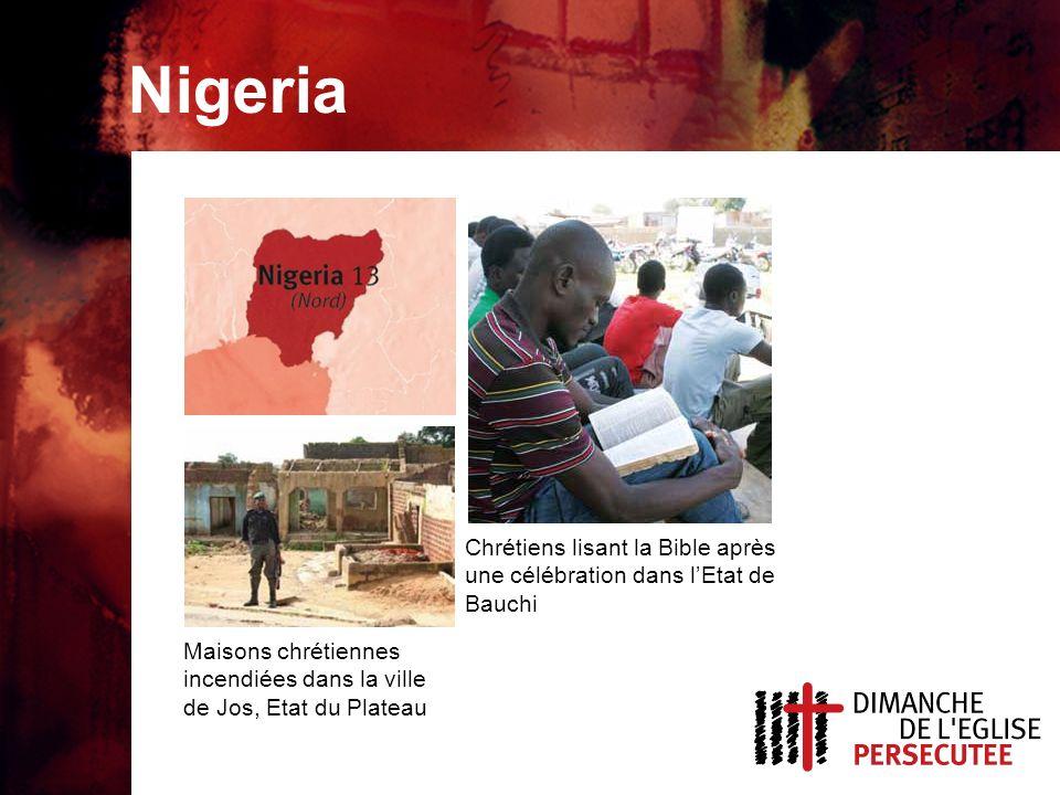 Nigeria, sujets de prière Pour que Dieu continue à aider les chrétiens à aimer les musulmans sans conditions.