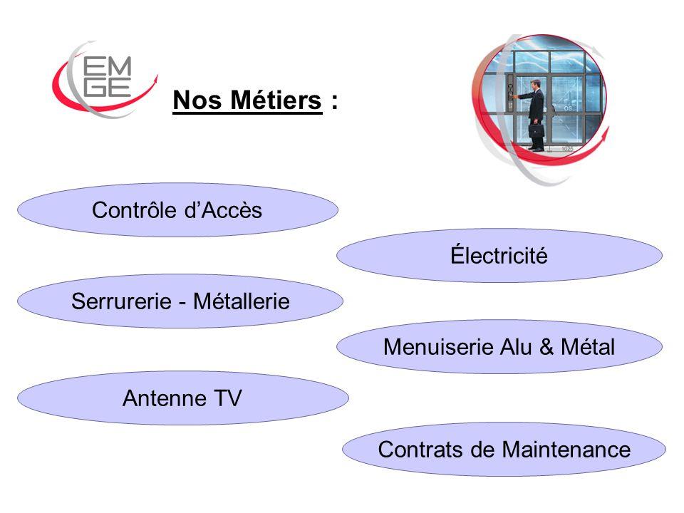 Le Contrôle dAccès : En veille technologique permanente, E.M.G.E.
